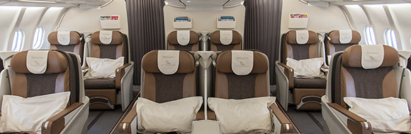 South African Airways Flat Beds