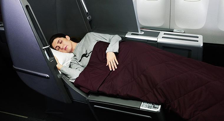 Qantas Flat Beds