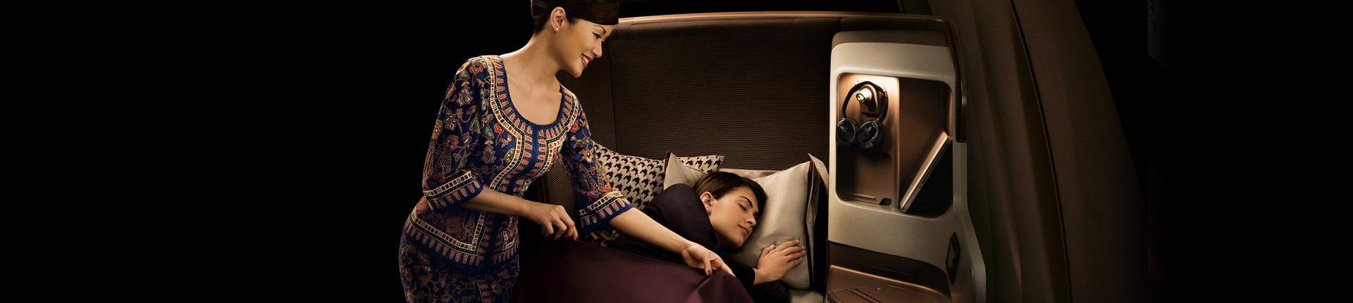 Singapore Business Class Sleeper