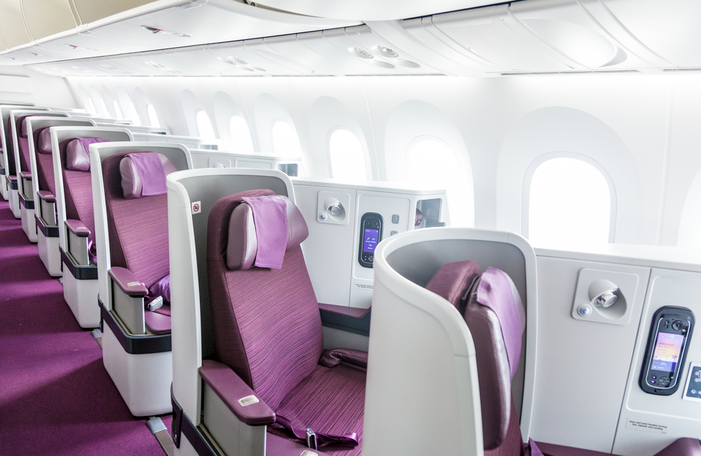 Thai Airways Dreamliner Business Class