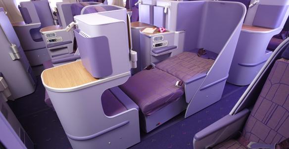 Thai Airways A380 Business Class