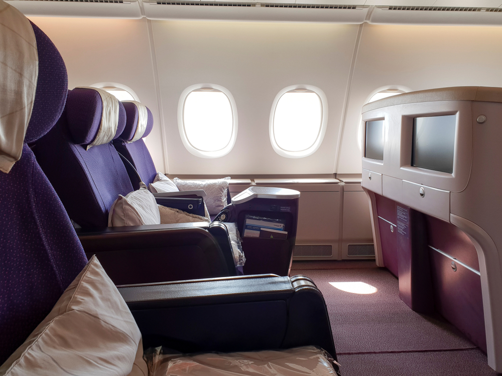 Malaysian Airlines Business Class Flat Beds