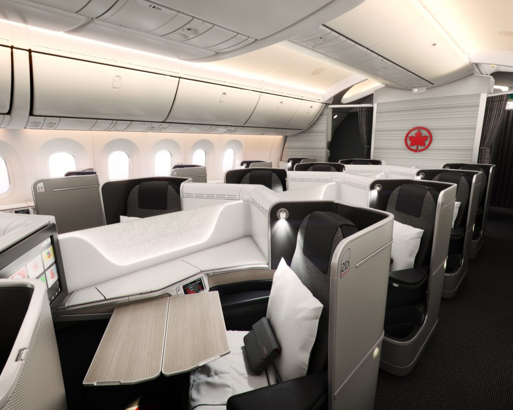Air Canada Dreamliner Business Class