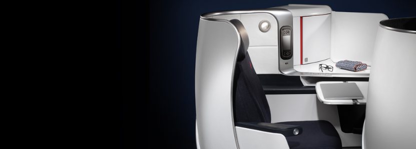Air France new Business Class Seats