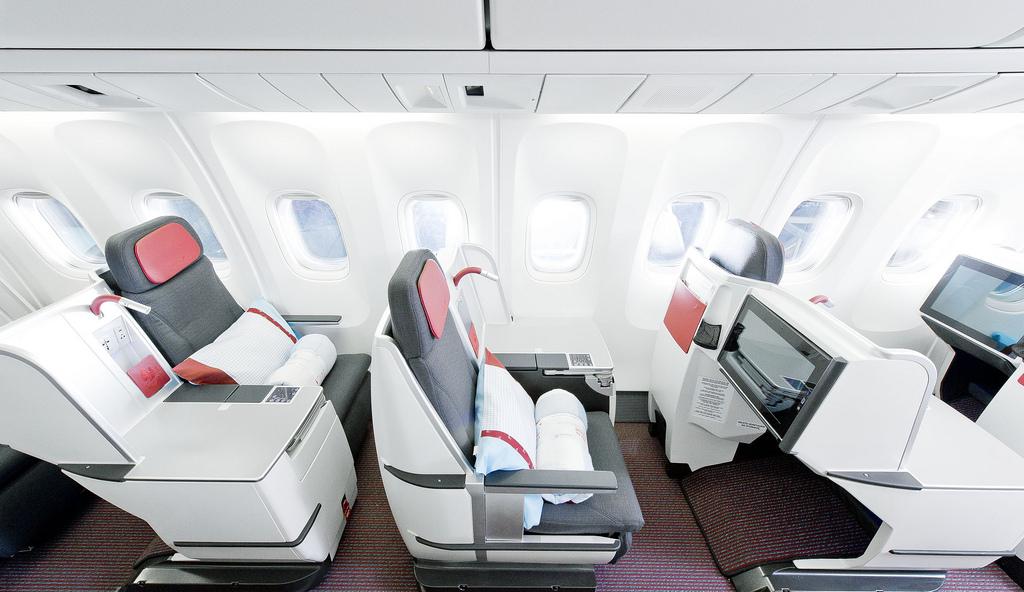 Single Business Class Seats