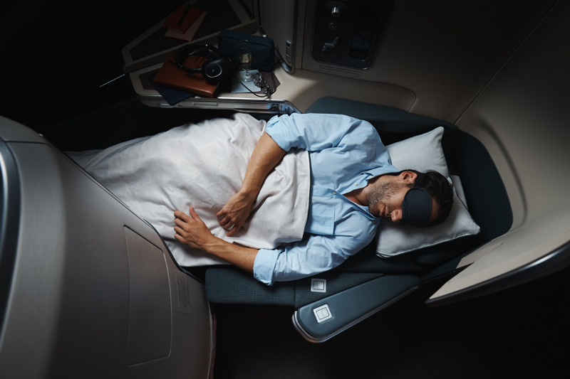 Cathay Pacific Business Flat Beds