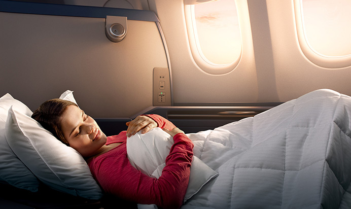 Delta One Business Flat Beds
