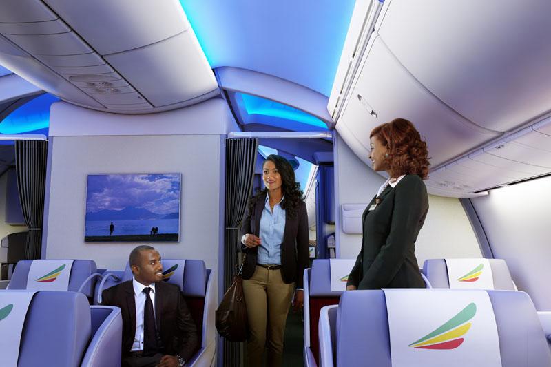 Ethipian Business Class