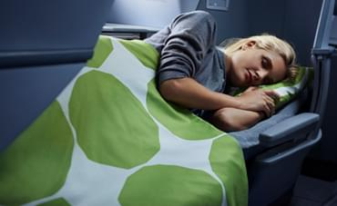 Finnair Full Flat Beds