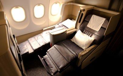 Gulf Air New Flat Beds