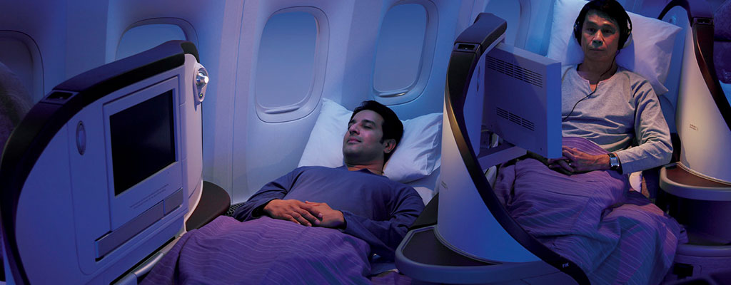 Jet Airways Flat Beds