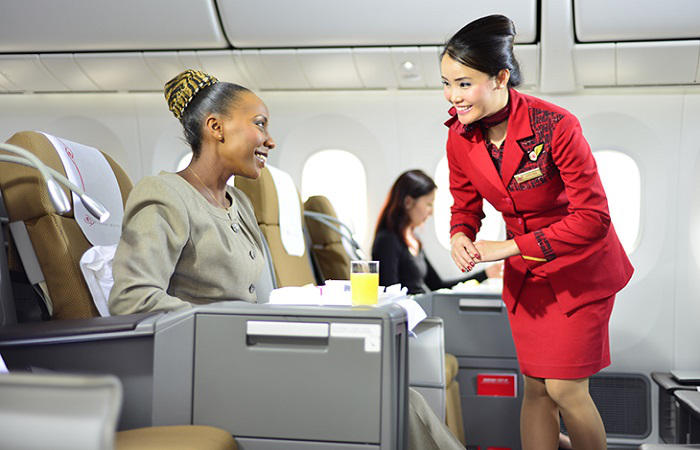 Kenyan Airways Business Class