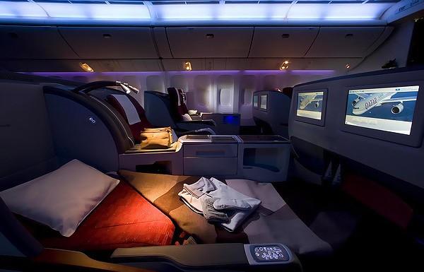 Sri Lankan Business Class Flat Beds