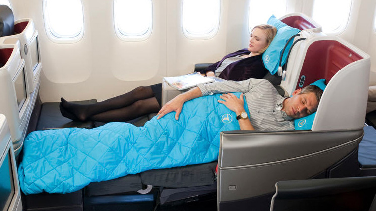Turkish Airline Business Class