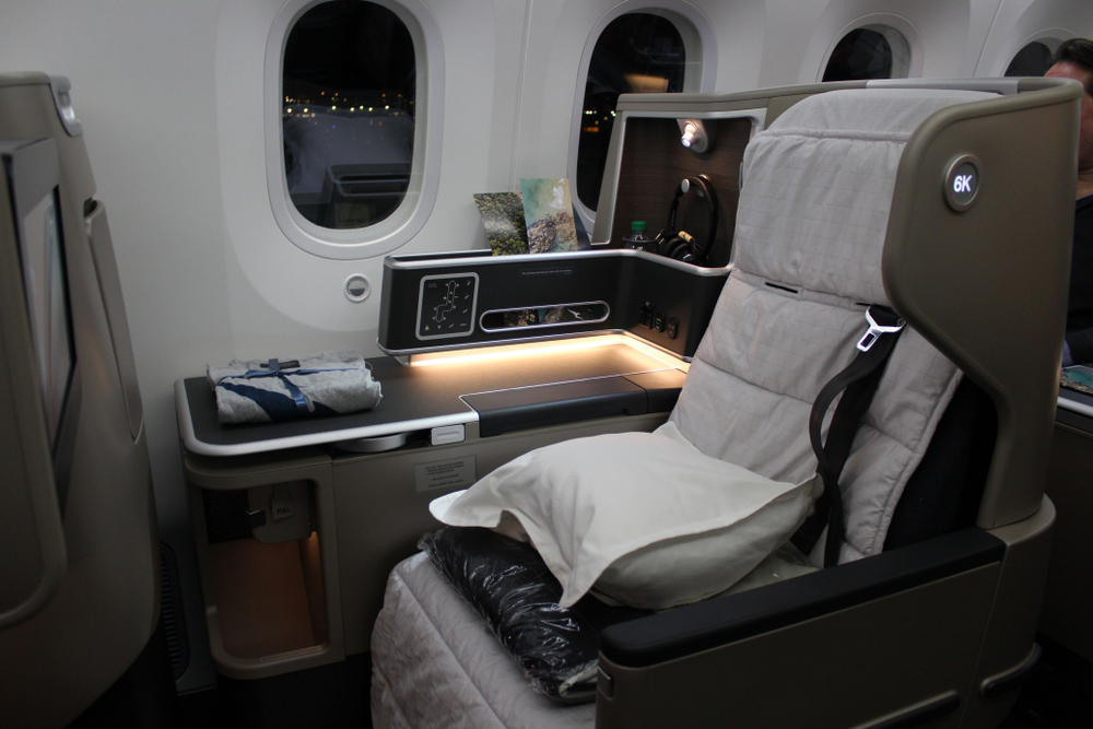 Qantas Business Class Flights