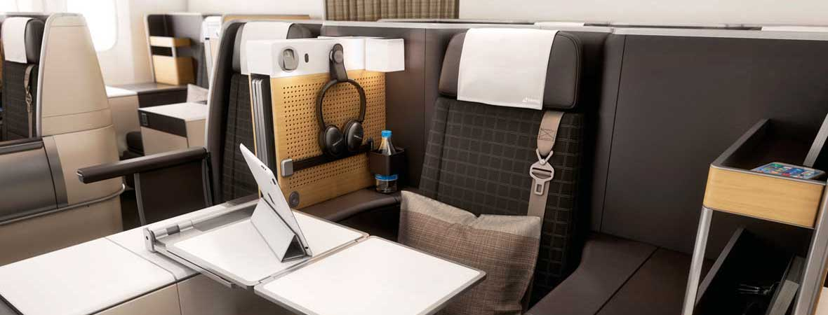 Swiss Airlines Business Class