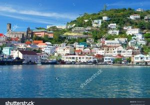 stock-photo-view-of-the-island-grenada-st-george-s-caribbean-338467157